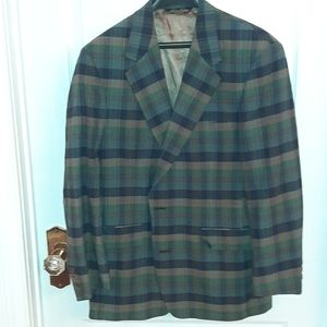 Brooks Brothers Plaid Blazer size 40R